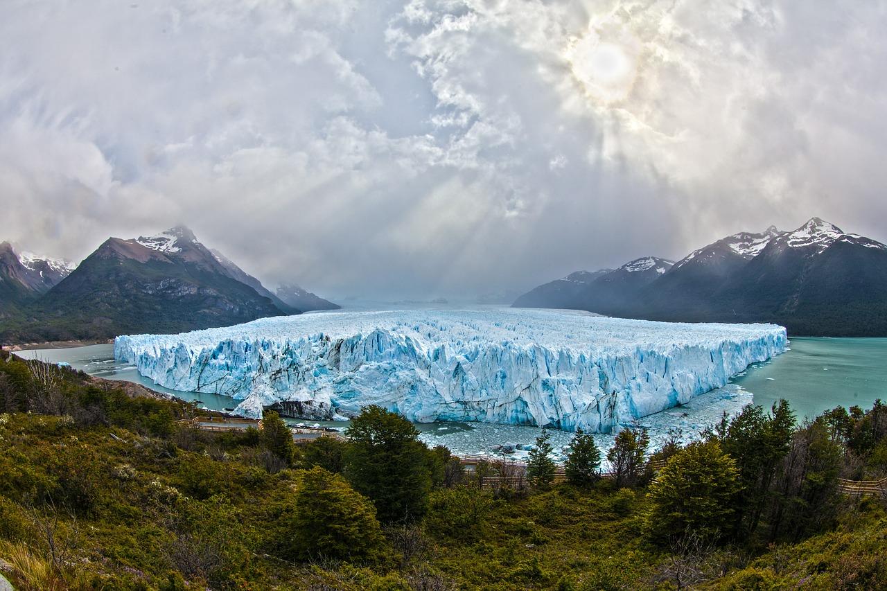 glacier en Argentine