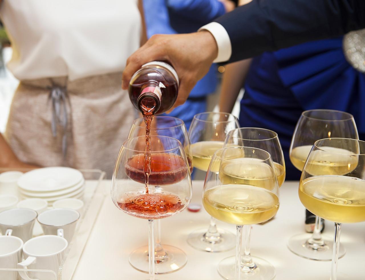 quantité vin champagne mariage