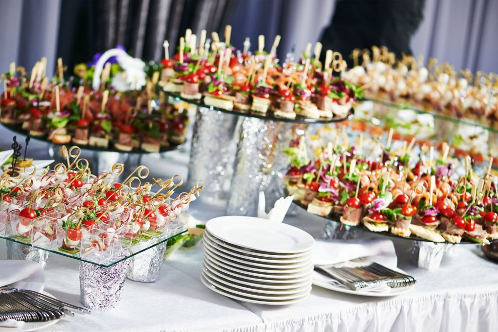 traiteur mariage buffet
