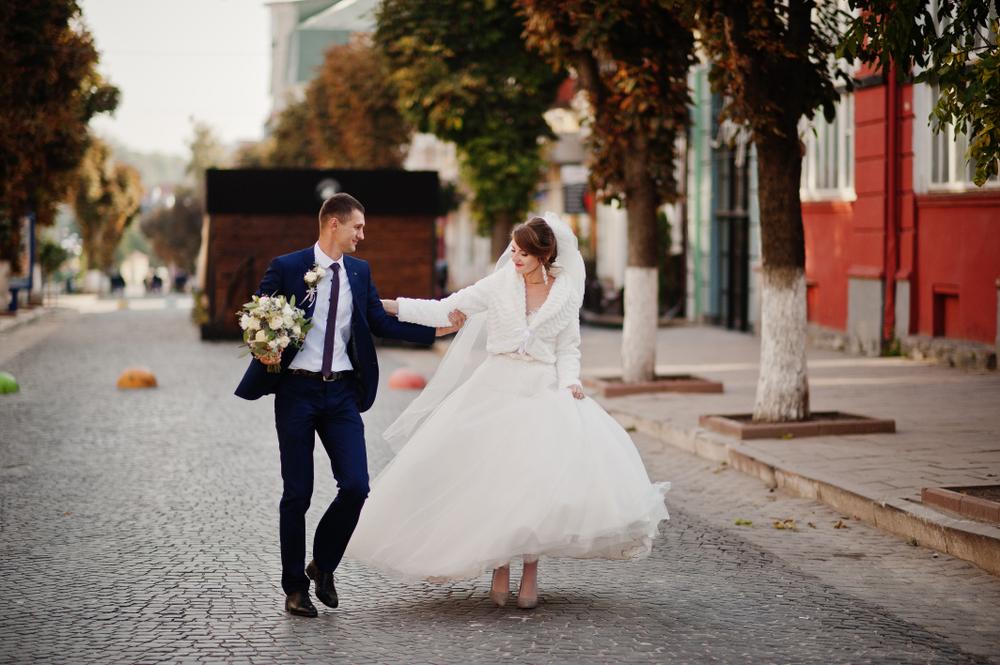 le mariage en automne